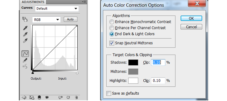 Fundamental Right Images Editing Elements for Basic - 2. Color Correction - Step Two