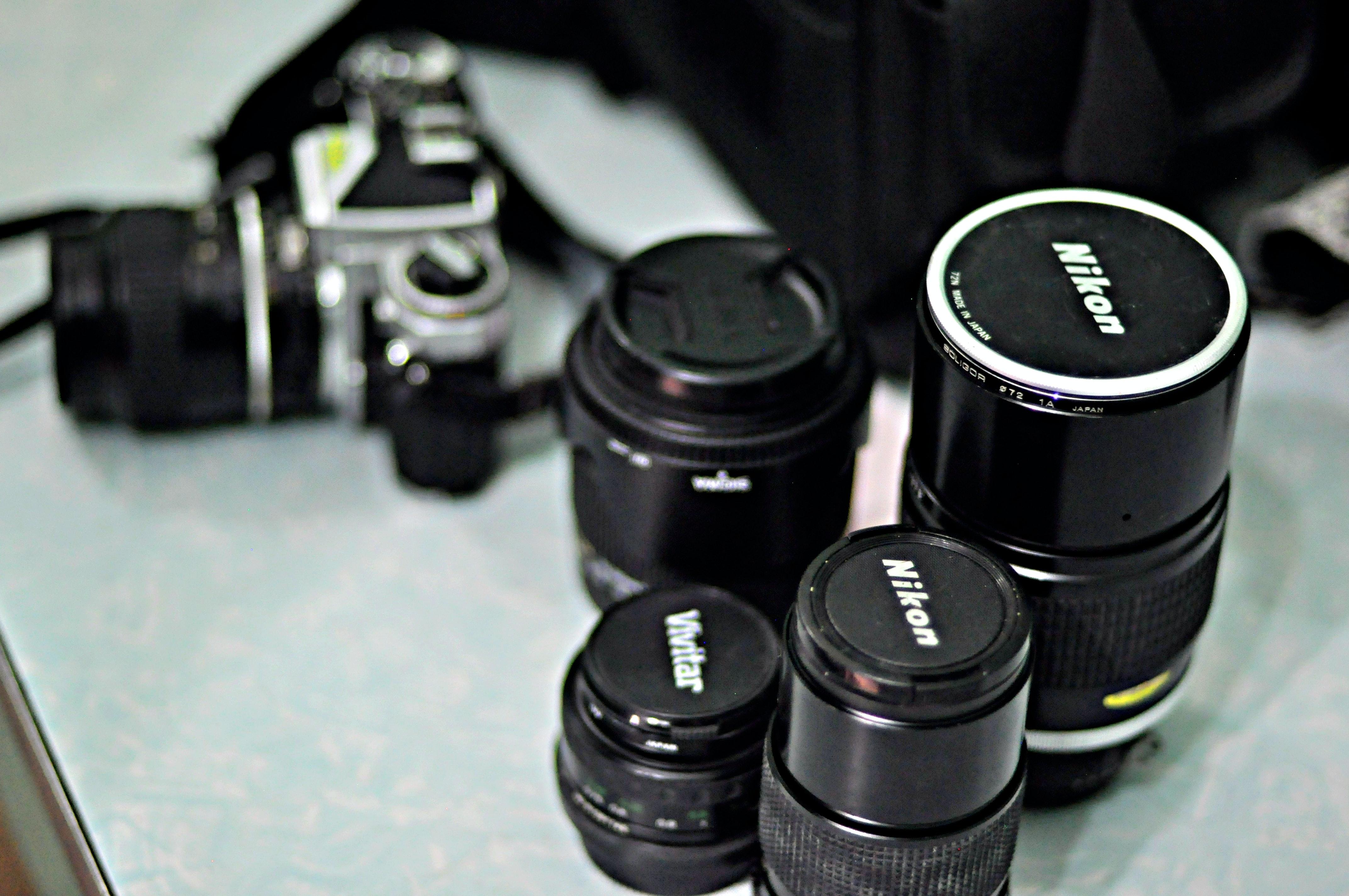 Balck Zoom Camera Lens